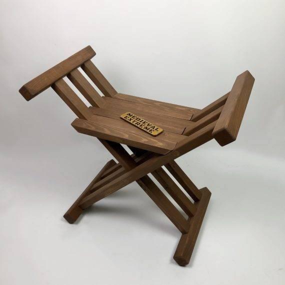 Medieval folding chair