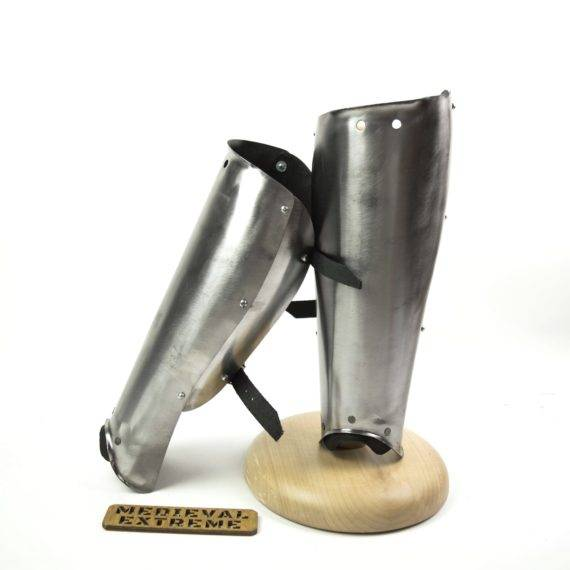 steel greaves for armored battles
