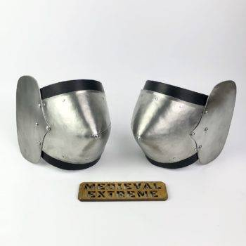 Riveted elbow cops pair
