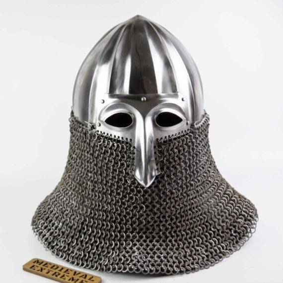 Nikolskoye Slavic helmet front