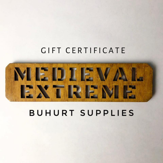 MedievalExtreme gift certificate square