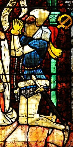 Figure 12 - Stained Glass from Stiftskirche, Klagenfurt, Carinthia, Austria (ca 1390)