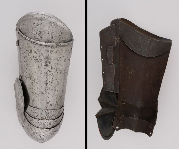 Figure 16 - Metropolitan Museum of Art. Item 29.158.275a-b (ca. 1450, with later restorations)
