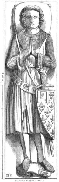Figure 6 - Cathedral Basilica of St Denis, Paris, Île-de-France, France (1320).