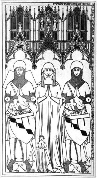 Figure 8 - St Martin's Church, Champeaux, Île-de-France, France (1333).