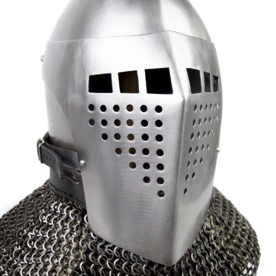Bascinet helmet of Alexander visor