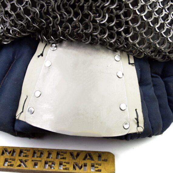 Bascinet helmet of Alexanderback plate