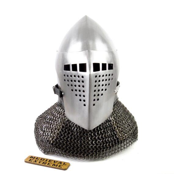 Bascinet helmet of Alexander