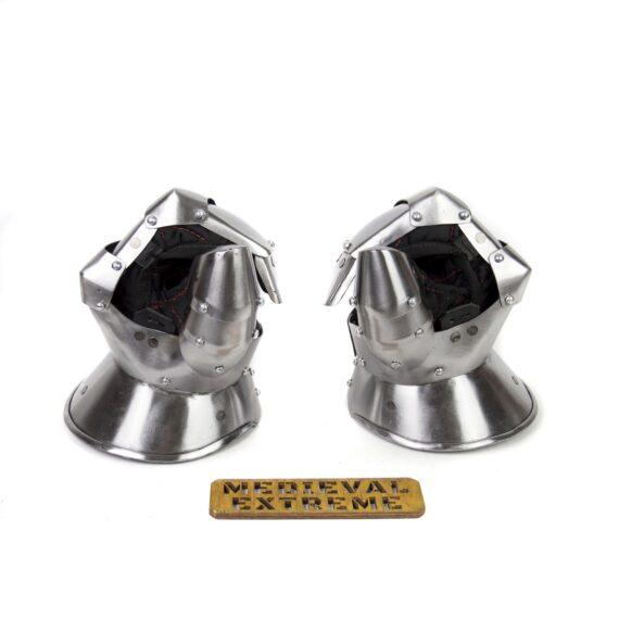 Buhurt optimized Plate Mittens pair