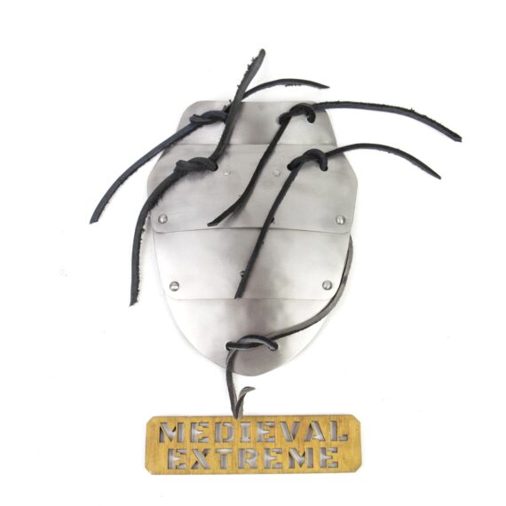 4 plates titanium neck shield