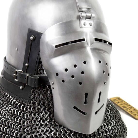 Italian Bascinet Helmet visor