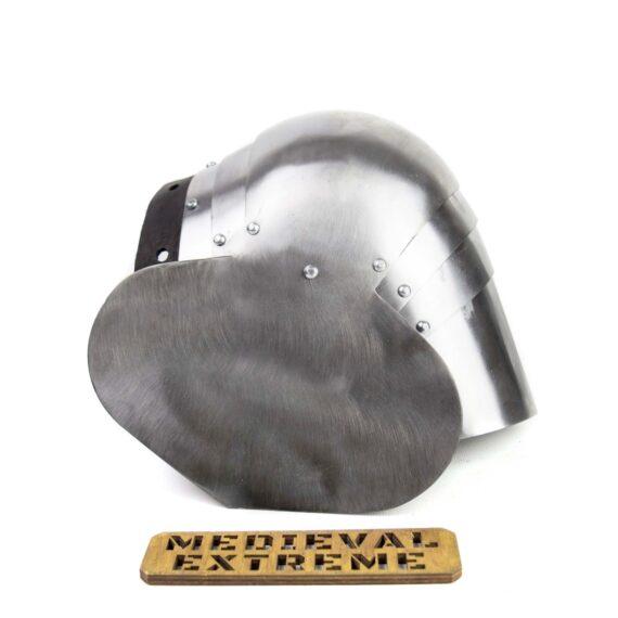 Hardened Steel segment poleyns leaf