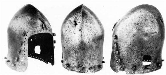 German Bascinet Clapvisor of Nuremberg source dome