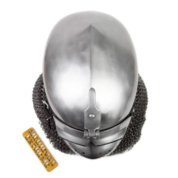 Italian Bascinet Helmet top