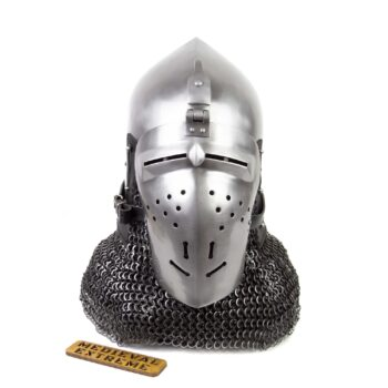 Italian Bascinet Helmet front