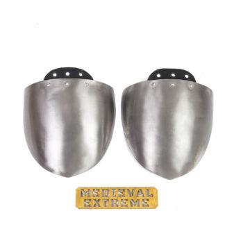Teardrop shoulder protection for duels