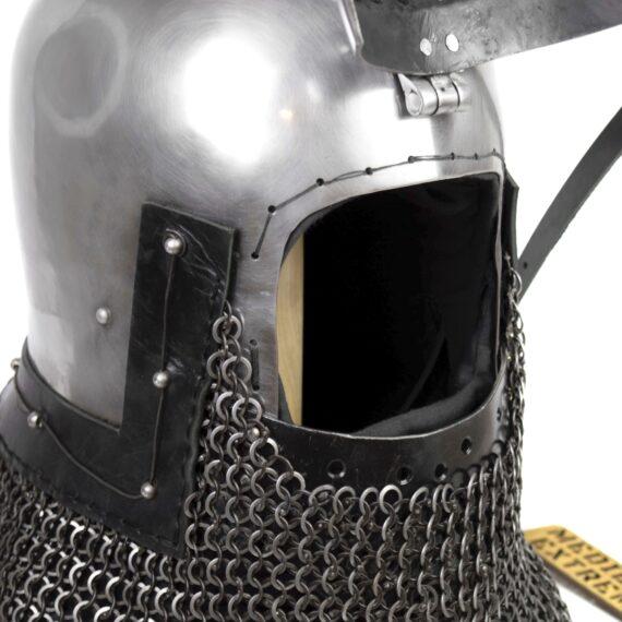 German Bascinet Clapvisor of Nuremberg visor