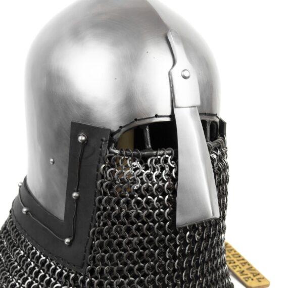 Nasal Bascinet Helmet face