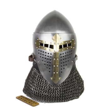 Bascinet helmet of Alexander (ROA) brass cross