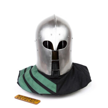 "Italian Barbute ""Y"" shaped visor type 2 front"