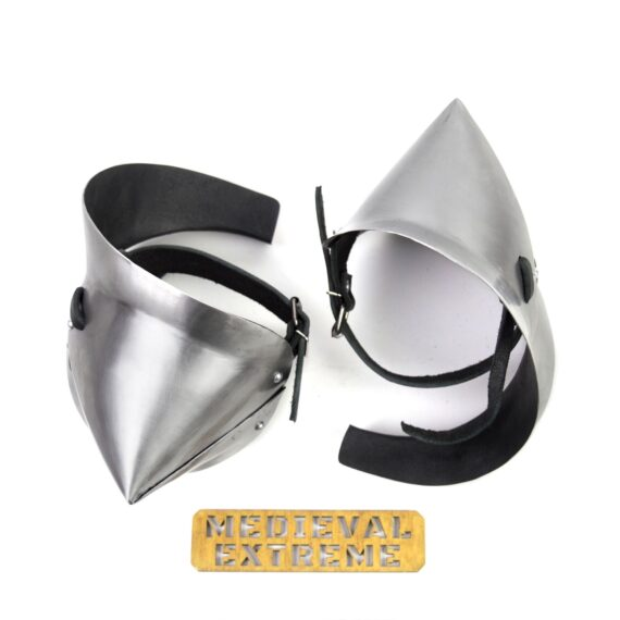 Late period elbows protection for armored combat