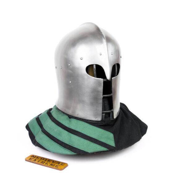 "Italian Barbute ""Y"" shaped visor type 2 side"