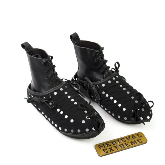 The Battle boots + briganted titanium sabatons bundle top