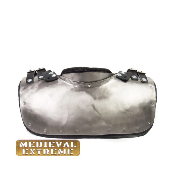 Gorget with padding neck protection for armored combat back