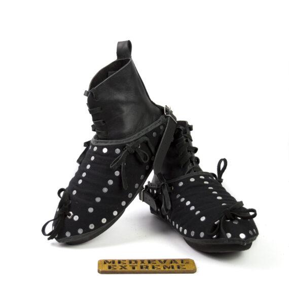 The Battle boots + briganted titanium sabatons bundle pair