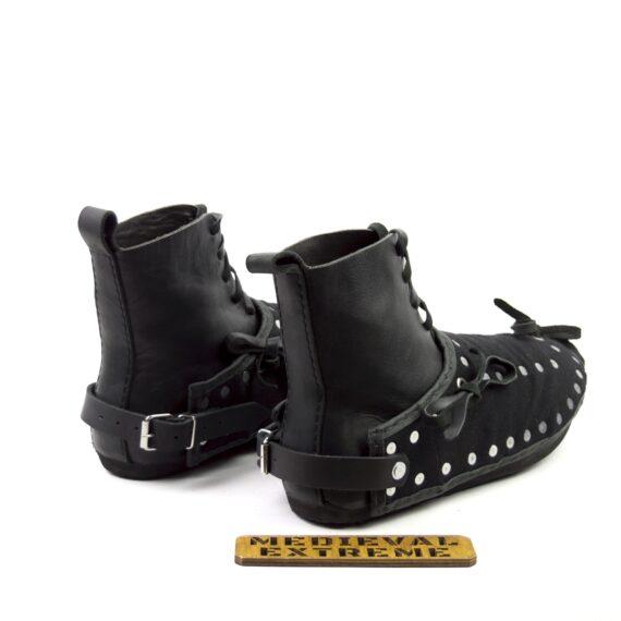 The Battle boots + briganted titanium sabatons bundle back
