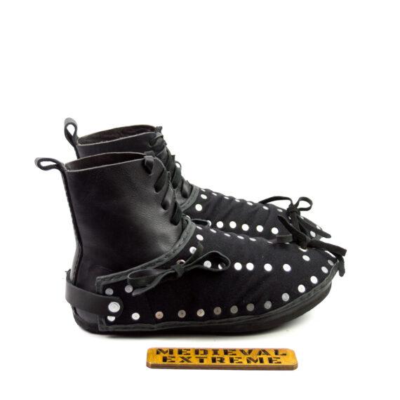 The Battle boots + briganted titanium sabatons bundle side