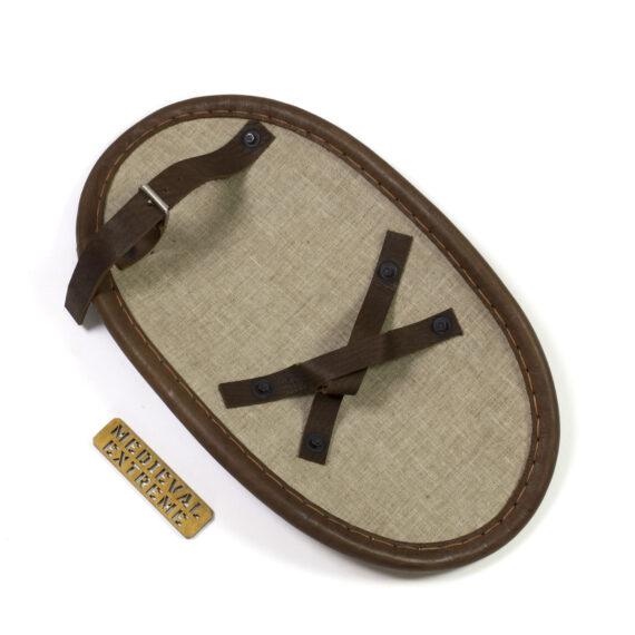 Oval shield for bohurt