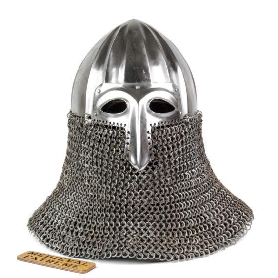 Nikolskoye Slavic helmet with a half-mask front