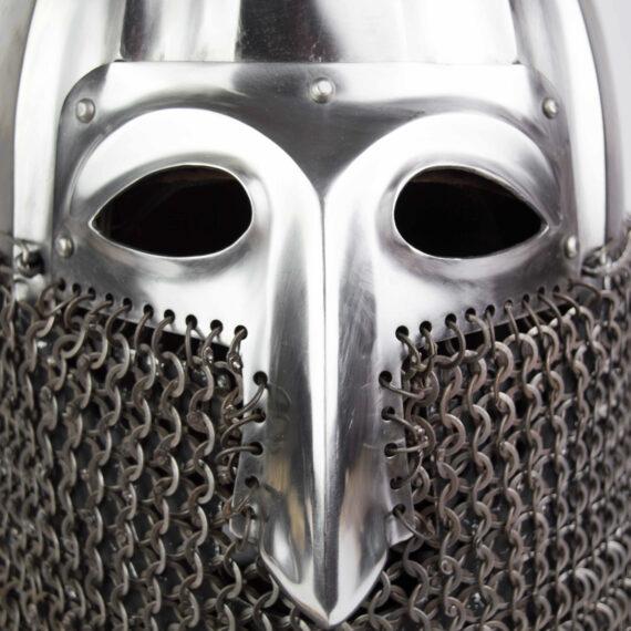 Nikolskoye Slavic helmet with a half-mask eyes