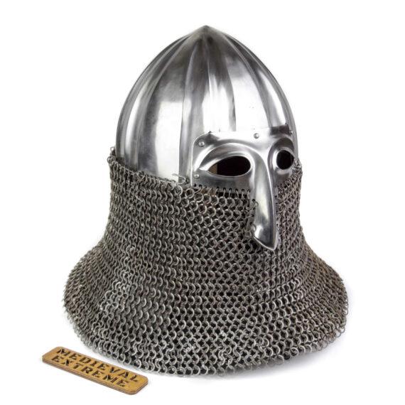 Nikolskoye Slavic helmet with a half-mask side