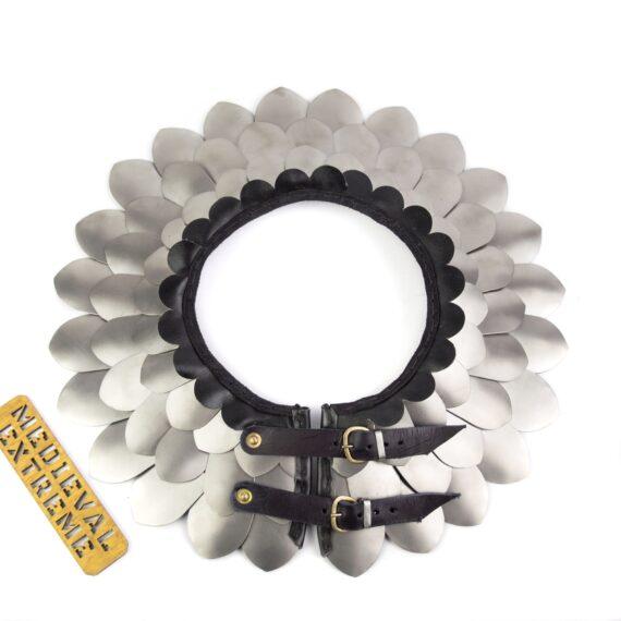 Titanium scales neck protection top