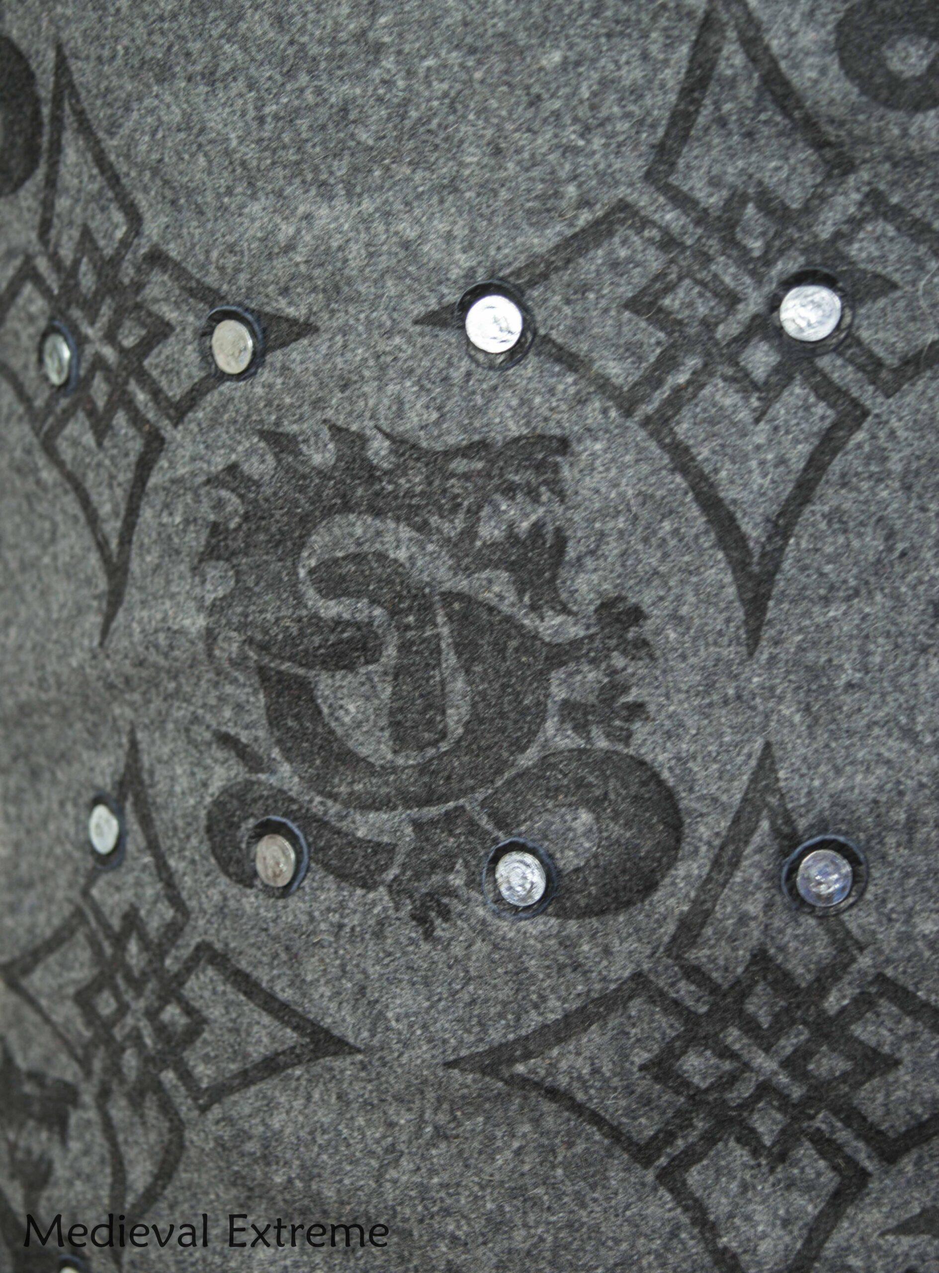 "Advanced Brigandine ""Wimbledon"" with print logo"