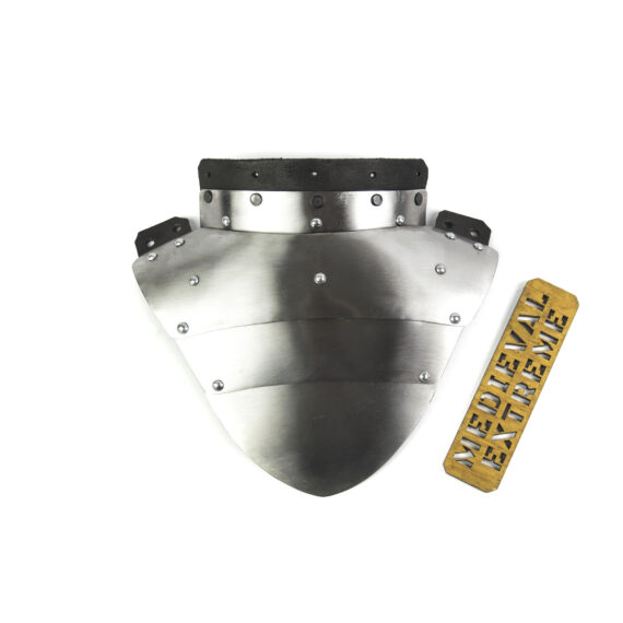 Neck protector for armored combat back