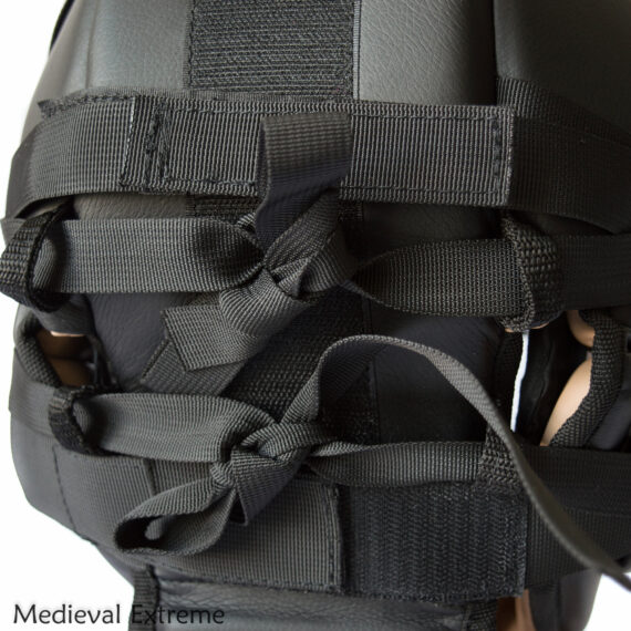 Soft armor training helmet laces