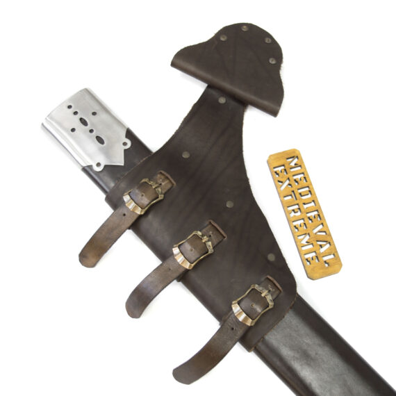 15th century falchion with scabbard