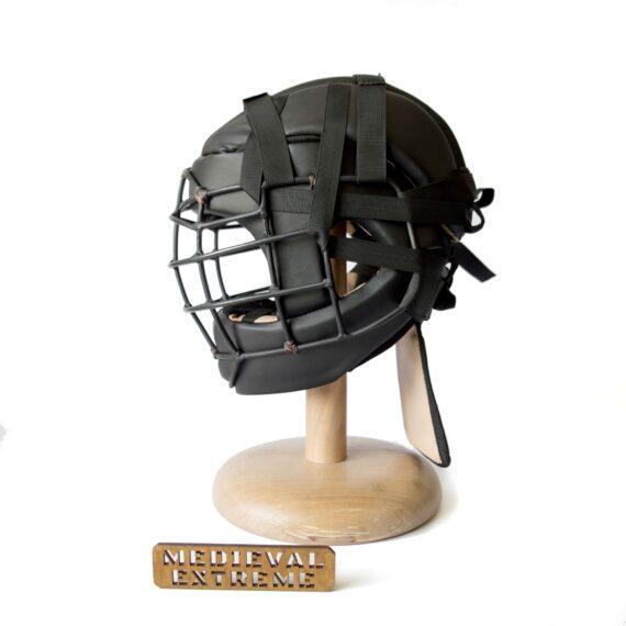 Soft armor training helmet side