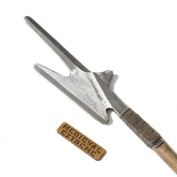 Swiss Halberd for medieval combat head