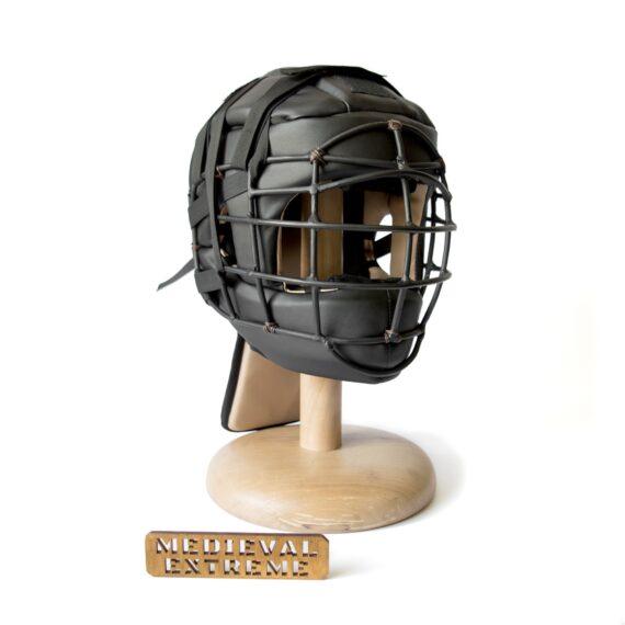 Soft armor training helmet front