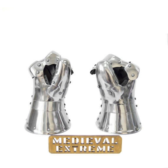 Gauntlets for armored combat sports pair