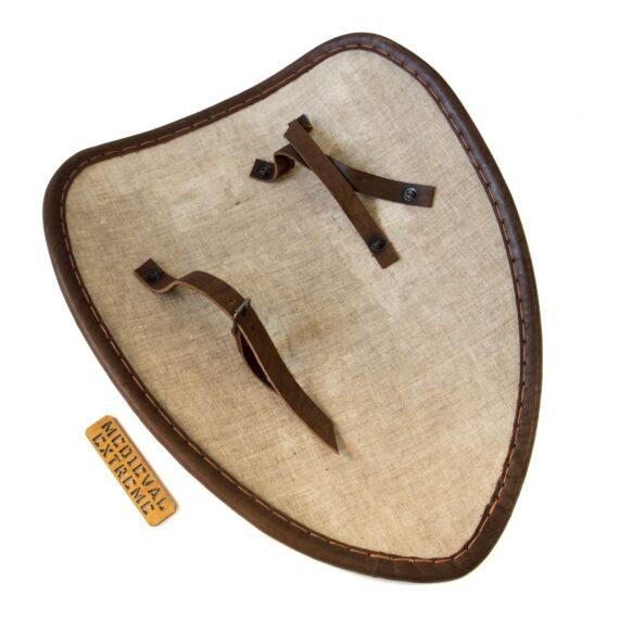 Large teardrop shield back