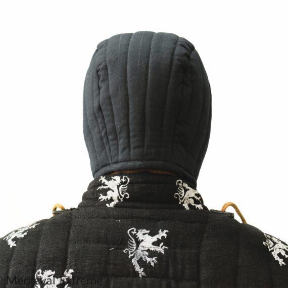 Padded arming cap back