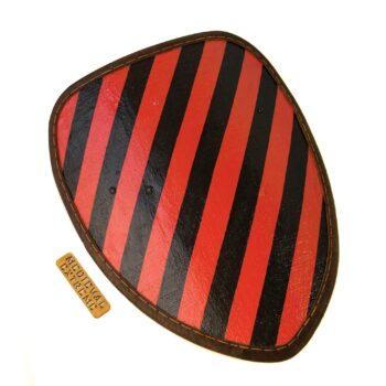 Large teardrop shield front