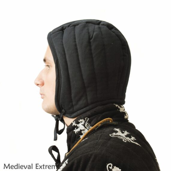 Padded arming cap side