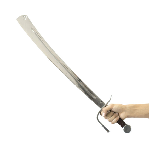 """Falchion """"Knight's Fall"""" in hands"""