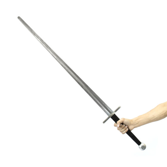 Training longsword for armored combat in hands